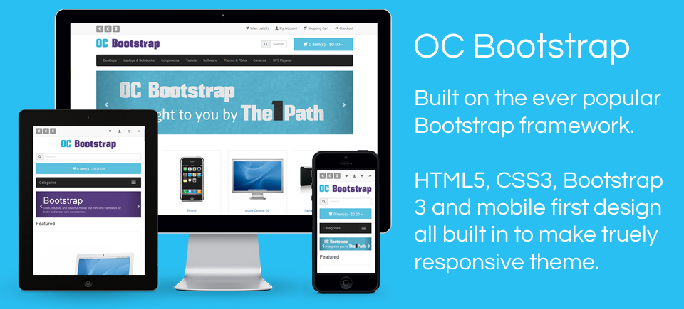 OC Bootstrap - Bootstrap theme for Opencart