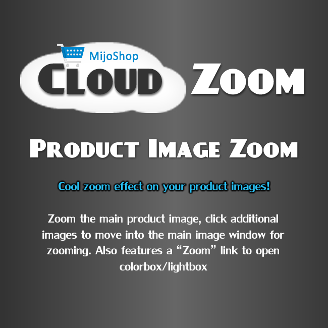 MijoShop Cloud Zoom