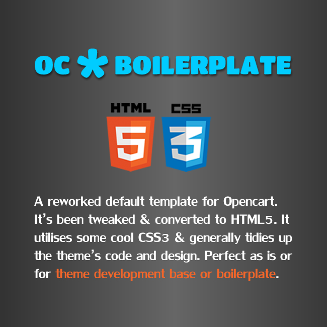 OC Boilerplate