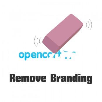 Remove OpenCart Branding